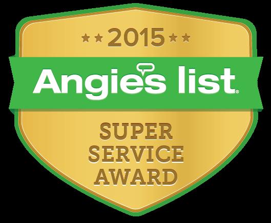 Angie's List Super Service Award - 2016